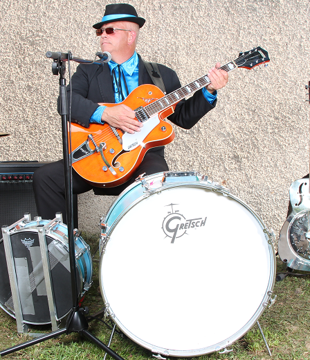 steve nel alsace auteur compositeur interprète blues boogie rock`n`roll bleu gretsch cédric maetz