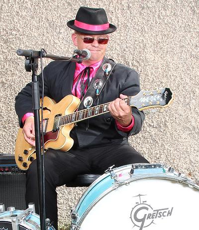 steve nel alsace auteur compositeur interprète blues boogie rock`n`roll rose epiphone sheraton cédric maetz
